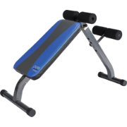 Pure Fitness Ab Crunch Sit-Up Weight Bench