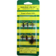 Pistol Pete Size 10 Trout Fly – 6 Pack