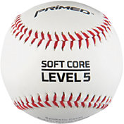 PRIMED Soft Core Level 5 Baseballs - 3 Pack