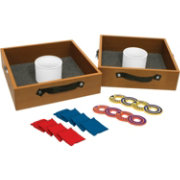 POOF Bulls-Eye Washers Washer Toss Game