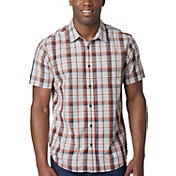 prAna Men's Tamrack Button Up Short Sleeve Shirt