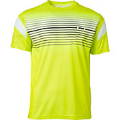 Prince Men's Chest Stripe Printed Tennis Crew