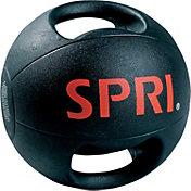 SPRI 12 lb. Dual Grip Medicine Ball