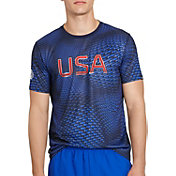 Polo Sport Men's Performance Jersey USA Graphic T-Shirt