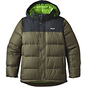 Patagonia Boys' Bivy Down Hooded Coat