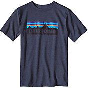 Patagonia Boys' P-6 Logo T-Shirt