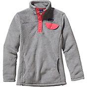 Patagonia Girls' Re Tool Snap T Fleece Jacket