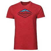 Patagonia Men's Fitz Roy Crest Slim T-Shirt