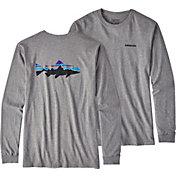 Patagonia Men's Fitz Roy Trout Long Sleeve Shirt