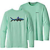 Patagonia Men's Tech Fish Long Sleeve T-Shirt