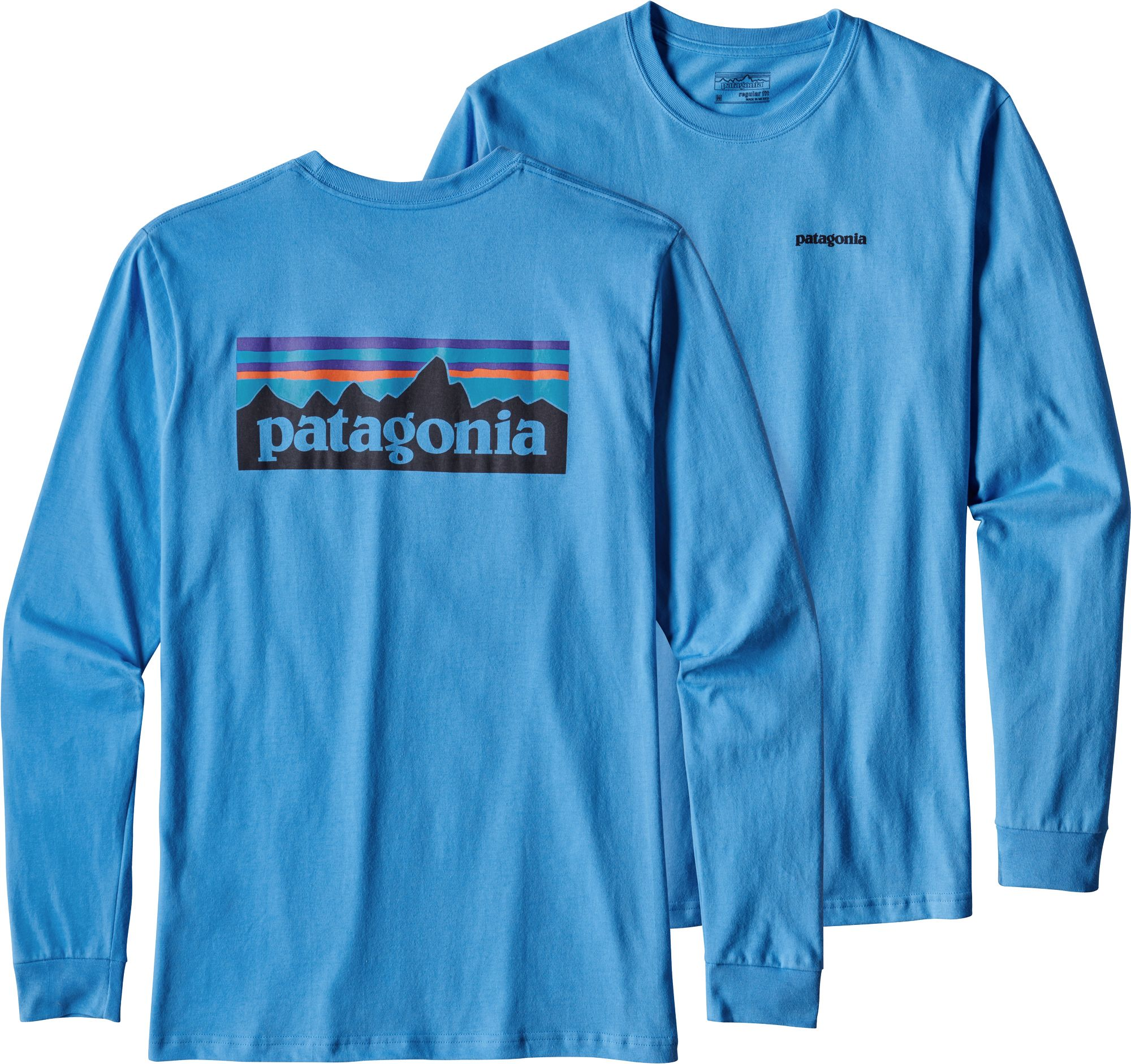 Patagonia Men's P-6 Logo Long Sleeve T-Shirt   DICK'S Sporting Goods
