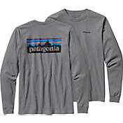 Patagonia Men's P6 Logo Long Sleeve T-Shirt