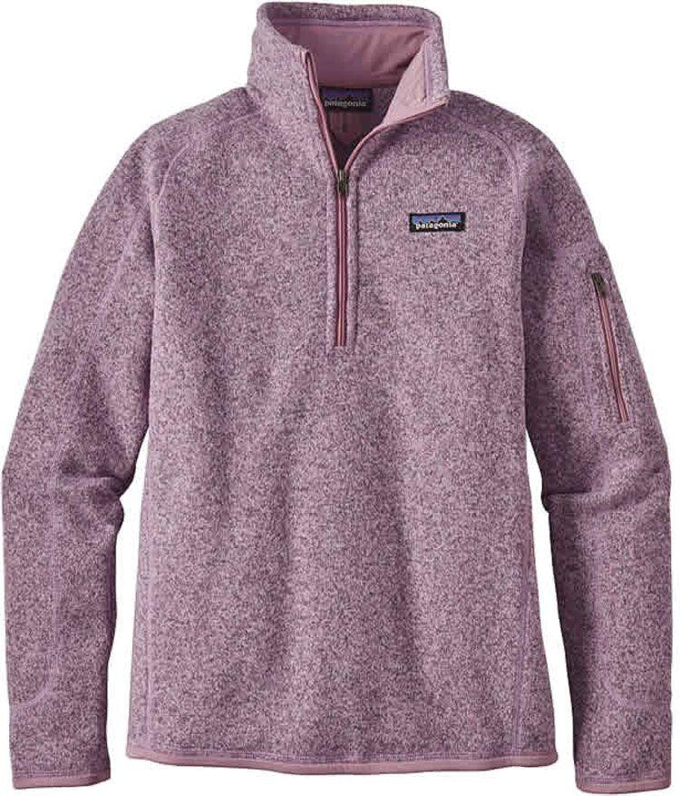 Patagonia Women's Better Sweater Quarter Zip Fleece Jacket ...