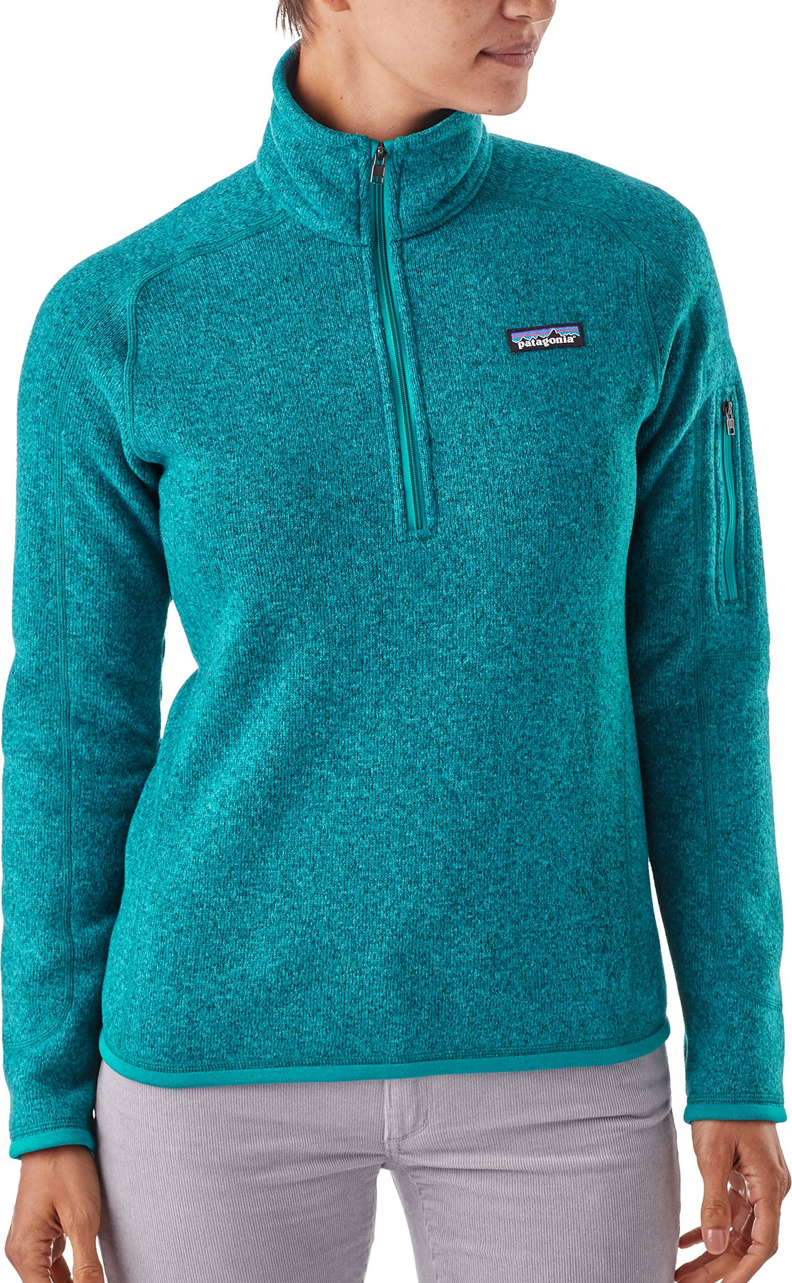 noImageFound ??? - Patagonia Women's Better Sweater Quarter Zip Fleece Jacket