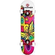 """Punisher Skateboards 31"""" Butterfly Jive Skateboard"""