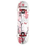 """Punisher Skateboards 31"""" Cherry Blossom Skateboard"""