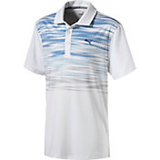 PUMA Boys' Jr. Uncamo Golf Polo