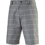 PUMA Men's Plaid Golf Shorts