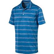 PUMA Men's Pounce Stripe Golf Polo