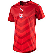 PUMA Men's Euro 2016 Czech Republic Replica Home Jersey