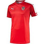 PUMA Men's Euro 2016 Austria Replica Home Jersey