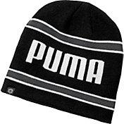 PUMA Men's Stripe PWRWARM Golf Beanie