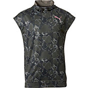 Puma Men's Tech Fleece Short Sleeve Hoodie
