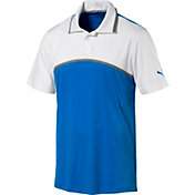PUMA Men's Tailored Colorblock Golf Polo