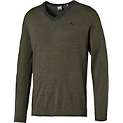 PUMA Men's V-Neck Golf Sweater