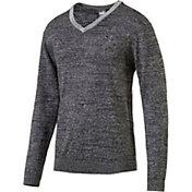 PUMA Men's V-Neck Golf Sweater