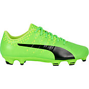 PUMA Men's evoPOWER Vigor 3 Graphic Leather FG Soccer Cleats
