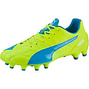 PUMA Men's evoSPEED 1.4 LTH FG Soccer Cleats