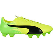 PUMA Men's evoSPEED 17.2 Leather FG Soccer Cleats
