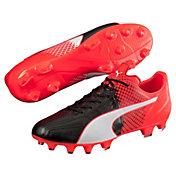 PUMA Men's evoSPEED 3.5 Leather FG Soccer Cleats