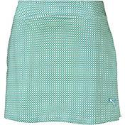 PUMA Women's Pinwheel Knit Golf Skort