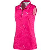PUMA Women's Bloom Sleeveless Golf Polo