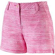 PUMA Women's Printed Golf Shorts