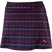 PUMA Women's Zig Zag Knit Golf Skort