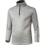 PUMA Boys' Core Fleece Quarter-Zip Golf Pullover
