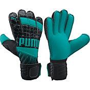 PUMA Youth Neon Jungle 2.0 Soccer Goalie Gloves