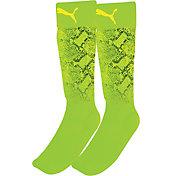 PUMA Youth Neon Jungle Closed Toe Soccer Shin Socks