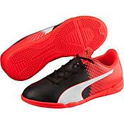 PUMA Kids' evoSPEED 5.5 IT Indoor Soccer Shoes