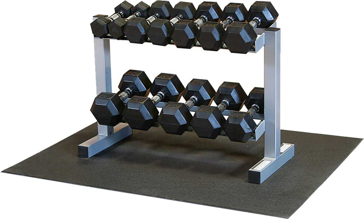 Powerline Pdr282x Rfws Dumbbell Rack And Set