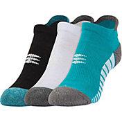 PowerSox No Show Tab Socks 3 Pack