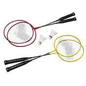 Quest 4 Player Badminton Racquet Set