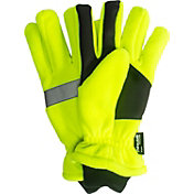 QuietWear High Vis Waterproof Fleece Gloves