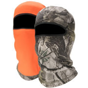 QuietWear Reversible Fleece 1-Hole Hunting Mask