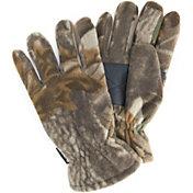 QuietWear Men's Waterproof Fleece Gloves