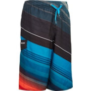 Quiksilver Boys' Rangled Stripe Volley Board Shorts