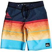 Quiksilver Boys' Slab Logo Vee Board Shorts